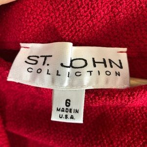 St. John Collection Jackets & Coats - St. John Collection Santana Knit 3 Piece Set
